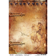 Ciao Bella - Codex Leonardo - Rice Paper - Il diario segreto