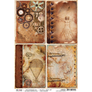 Ciao Bella - Codex Leonardo - Rice Paper - L'arte senza confini