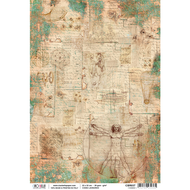 Ciao Bella - Codex Leonardo - Rice Paper - I codici