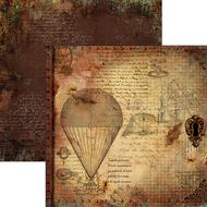 Ciao Bella - Codex Leonardo - 12 x 12 Sheet Le macchine volanti