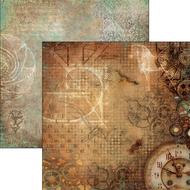Ciao Bella - Codex Leonardo - 12 x 12 Sheet La mente di Leonardo