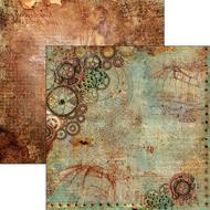 Ciao Bella - Codex Leonardo - 12 x 12 Sheet La meccanica del volo