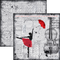 Ciao Bella - Loving The Rain - 12 x 12 Paper Pad 8
