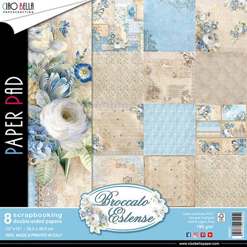 Ciao Bella - Broccato Estense - 12 x 12 Paper Pad