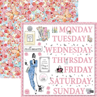 Ciao Bella - Italian Luxury - 12 x 12 Sheet Floral Week