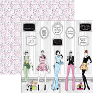 Ciao Bella - Italian Luxury - 12 x 12 Sheet Fashion House