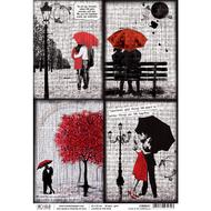 Ciao Bella - Loving The Rain - Rice Paper - Love Is An Umbrella