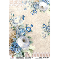 Ciao Bella - Broccato Estense - Rice Paper - Il giardino di Lucrezia