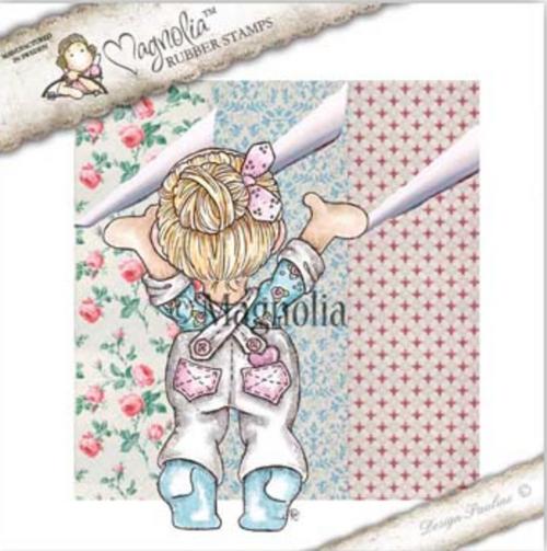 Magnolia Stamps Fixer Upper - Wallpaper Tilda and Wallpaper