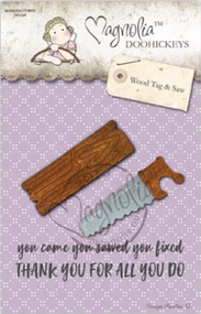 Magnolia DooHickey - Fixer Upper 2018 - Wood Tag & Saw