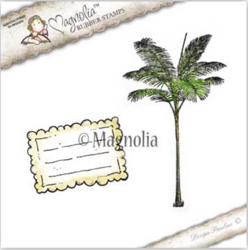 Magnolia Stamps Upgrade Le Fleur - Palm Tree