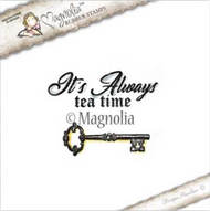 Magnolia Stamps Tilda In Wonderland - Always Tea Time