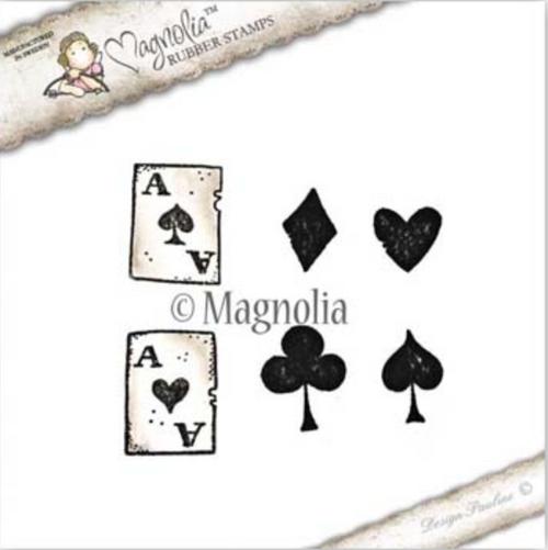 Magnolia Stamps Tilda In Wonderland - Playing Card