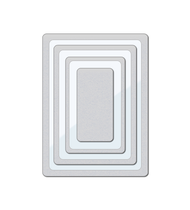 Wplus9 - Clear Cut Stackers: Rounded Rectangles Die
