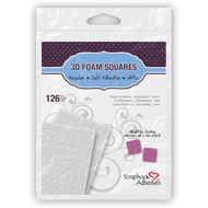 Scrapbook Adhesives Square White