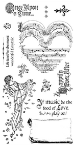 Graphic 45 - Enchanted Forest - Cling Stamp 3 (IC0358S)