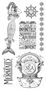 Graphic 45 - Voyage Beneath the Sea - Cling Stamp 1 (IC0359S)
