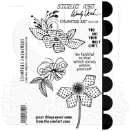 Wendy Vecchi Studio 490 Cling Stamp - Unlimited Art (SCS138)