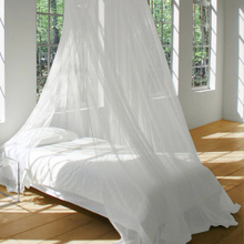 Mosquito Net Bed Canopy WHITE