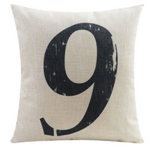Number Nine Cushion Cover