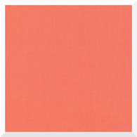 CIRRUS SOLID SALMON by Cloud9 - 100% Organic Cotton (0.25m)