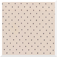TO MARKET to Market by Emily Isabella - Don't Step on the Flowers   Khaki - 100% Organic Cotton (0.25m)