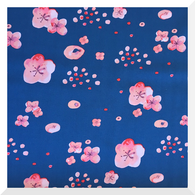 HAIKU by Monaluna - Cherry Blossoms DUSK - Organic Cotton LAWN (0.25m)