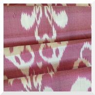 Ikat- Silk/Cotton Handloomed - Fuschia - Fabric (0.25m)