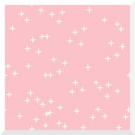 Mod Basics 3 WINK Pink by Birch - Organic Cotton (0.25m)
