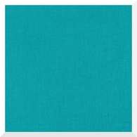 CIRRUS SOLID TURQUOISE by Cloud9 - 100% Organic Cotton (0.25m)