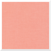 CIRRUS SOLID CORAL by Cloud9 - 100% Organic Cotton (0.25m)