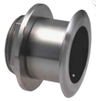Airmar® SS164 Thru-Hull Transducer  The 1kW, flush-mount, Tilted Element transducer is perfect for fast, trailered, tournament sportfishing vessels that cannot have a High-Performance Fairing.