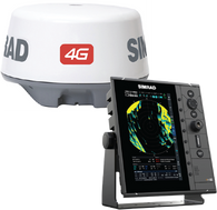 """Simrad R2009 4G™ kit is a specific 9"""" portrait Radar Control Unit and 4G Broadband Radar. The kit includes R2009 radar control unit, 4G Broadband Radar, RI-10 interface, Interconnection cable 20m (66 ft), 1.8 m (6 ft) Ethernet cable."""