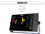 """Simrad R3016 10 kW 6 foot antenna radar kit is a dedicated 16"""" widescreen Radar Control Unit and 10 kW HD Radar. Kit includes R3016 radar control unit, 10 kW pedestal and 6 ft antenna, 10 kW radar processor, Interconnection cable 20m (66 ft), 1.8 m (6 ft) Ethernet cable and 5 pin yellow to RJ45 adapter cable 000-12196-001"""