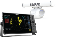"""Simrad R3016 HALO™-3 kit is a dedicated 16"""" widescreen Radar Control Unit and HALO-3 Pulse Compression Radar. Kit includes R3016 radar control unit, Halo pedestal and 3ft antenna, RI-12 interface, Interconnection cable 20m (66 ft), 1.8 m (6 ft) Ethernet cable.  Part Number: 000-12198-001  Pricing:"""