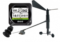 The Triton Bundle; Three Triton displays, depth, boat speed and water temp, wind speed and direction, RC42 compass