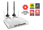 Draytek Vigor 2860Ln 4G LTE VDSL2/ADSL2+ Gigabit-WAN VPN Firewall Router with 802.11n Wireless AP