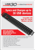 Electra Micro 30 Port USB Sync & Charge Hub
