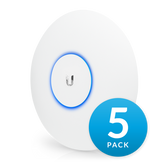 Ubiquiti UniFi  Indoor/Outdoor Access Point 802.11ac PRO 5 Pack (No PoE Adapter included)