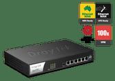 Draytek Vigor 2952 Dual WAN Security Firewall Router, 100x VPN Tunnels