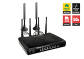 Draytek Vigor 2926Lac 4G LTE Dual WAN Gigabit Broadband Router with Security Firewall, 802.11ac WiFi