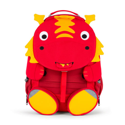 Affenzahn Large Red Dragon Back Pack