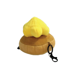 Gem Biscuit Keychain Yellow
