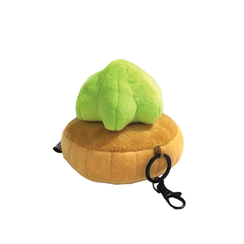 Gem Biscuit Keychain Green