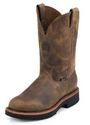 "Justin 4440 JMAX 11"" Rugged Tan Gaucho Non-Safety Toe"