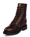 """Justin 765 8"""" Briar Pitstop Safety Toe, Made in the U.S.A."""