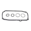 SBC  1pc Oil pan Gasket 80-85 with steel limit Bushings