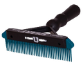 "Sullivan's 6"" Smart Comb - Black & Teal"