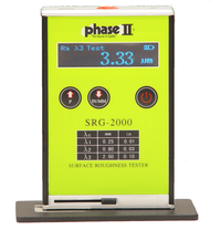 Phase II Portable Surface Roughness Tester Profilometer SRG-2000 - Brystar Metrology Tools
