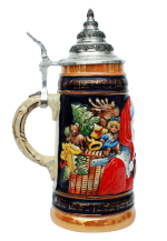 Ceramic Beer Stein Christmas Gift